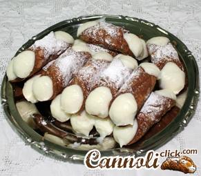 Cannoli, dolci mignon