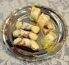 Cannoli & Apostle's Fingers, mini desserts