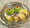 Cassatas & Apostle's Fingers, mini desserts