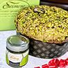 Panettone artesano con crema de pistacho