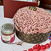 Handmade Panettone with Ruby Chocolate Cream