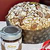 Panettone artisanal à la crème de gianduia
