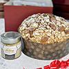 Panettone artisanal à la crème d'amande