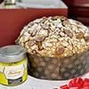 Handmade Panettone with Lemon Cream