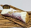 6 Cannolis gourmet recouverts de chocolat rubis
