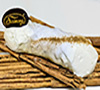 6 Gourmet Cannoli covered with White Chocolate