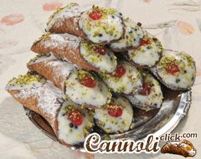 6 Cannoli Siciliani con Pistacchi