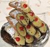 6 Cannoli with Pistachio-Flavored Ricotta