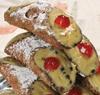 6 Cannolis de ricotta aux pistaches