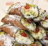 10 Cannoli sicilianos con pistachos