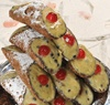10 Cannoli sicilianos con ricotta con sabor a pistacho