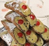 20 Cannolis de ricotta aux pistaches