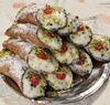 20 Cannoli Siciliani con Pistacchi