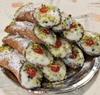20 Cannolis couverts de pistaches