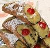 8 Cannolis de ricotta aux pistaches
