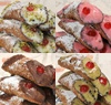 6 Assorted Cannoli