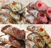6 Cannoli sicilianos surtidos