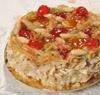Delizia Almond Cake, typical sicilian dessert