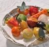 Fruits en pâte d'amandes, desserts typiques siciliens