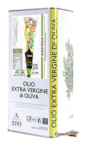 Oleum Olio Extra Vergine latta 5 lt