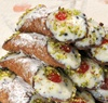 10 Cannolis Covered with Pistachios