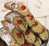 10 Cannolis de ricotta aux pistaches
